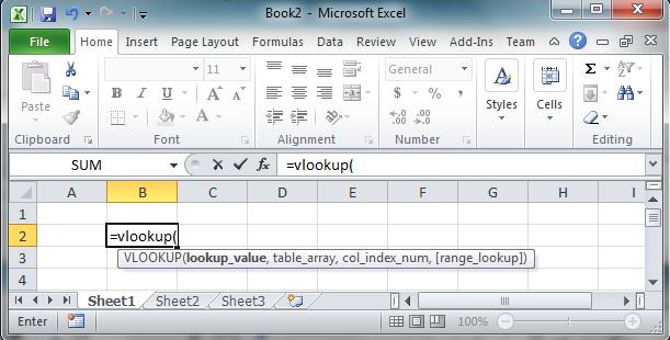 Vlookup formula | Excel-i-rate